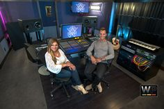 Recording Studio Designed and Build by Westlake Pro.