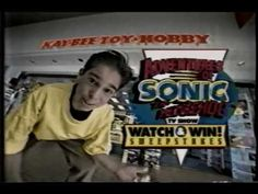 Sonic the Hedgehog Watch and Win Sweepstakes Ripped from VHS by VCR2PC from ION and cropped in Virtual Dub.  The sweepstakes in 1993 on commercial breaks during Adventures of Sonic the Hedgehog. This contest was to promote the new cartoon series by offering cool prizes. #ChrisChan #CWC