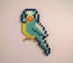 Blue bird perler beads by Supernaturally                              …