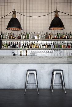 I don't have the room or the need for a full bar I suppose but if I did, I love this!  Nazdrowje Restaurang & Bar, Stockholm