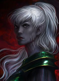 I guess this is what Rogue would look like if she was an elvish warrior.