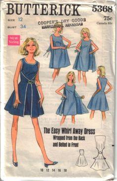 butterick easy wrap dress