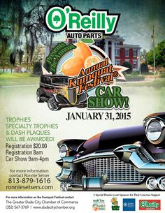 Best CruiseIn Car Show Flyers Images On Pinterest In - Dade city fl car show