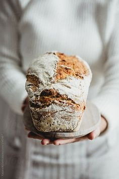 Homemade bread.  Can you smell it?
