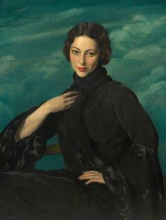 Herbert James Gunn, Pauline, Wife of the Artist, 1930