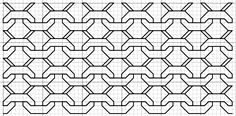 imaginesque free blackwork patterns... Think this will work for a zentangle