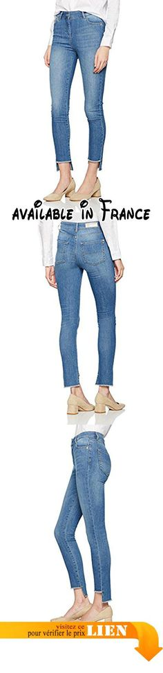 PATRIZIA PEPE 1J0189, Jean à Jambes Droites Femme, Blu (Denim Wash), 38 (Taille Fabricant:27).  #Apparel #PANTS