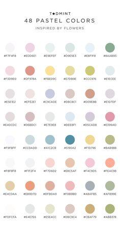 Hex Color Palette, Pastel Colour Palette, Pastel Colors, Pastel Color Wallpaper, Colours, Pantone Colour Palettes, Color Schemes Colour Palettes, Pantone Color, Paleta De Color Hexadecimal