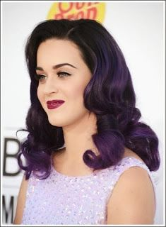 Dark Purple Hair. I like how it's tinted, not pre-bleached