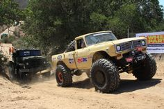 Four Wheeler Top Truck Challenge 2014 competitor, Earl Middleton's 1972 International Pickup started with an #OPTIMA battery