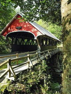 I love covered bridges!