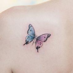 나~비 :) - #타투 #그라피투 #타투이스트리버 #디자인 #그림 #디자인 #아트 #일러스트 #tattoo #graffittoo #tattooistRiver #design #painting #drawing #art #Korea #KoreaTattoo #butterflytattoo #smalltattoo #나비타투 #미니타투 #작은타투 Small Tattoos With Meaning, Small Tattoos For Guys, Small Wrist Tattoos, Tattoos For Daughters, Finger Tattoos, Butterfly Tattoo Cover Up, Butterfly Tattoo Meaning, Butterfly Tattoos For Women, Butterfly Tattoo Designs