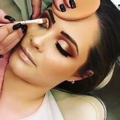 Gorgeous Makeup: Tips and Tricks With Eye Makeup and Eyeshadow – Makeup Design Ideas Diy Beauty Makeup, Beauty Make-up, Makeup Inspo, Makeup Ideas, Makeup Tutorials, Makeup Inspiration, Beginner Makeup Kit, Makeup For Beginners, Flawless Makeup