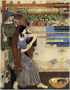 William Russell Flint Odyssey
