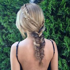3-in-1 Fishtail Braid Hairstyle