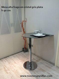 Mesa de cocina estrecha greta con fondo de 30 cm y - Mesa alta cocina ...