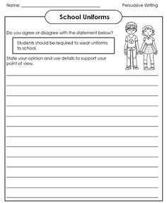 Check out our persuasive writing exercises!