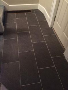 Shop Style Selections Galvano Charcoal Glazed Porcelain Floor Tile