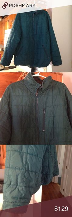 ✨🔴1HOURSALE✨🔴 Nano Puff by L.L. Bean Size XL Tall L.L. Bean Mens Nano Puff Thinsulate Jacket in teal green patagonia style cute girly  party  womens cocktail work school office career weddings fall winter classy pretty style trend runway model girl woman womens fashion L.L. Bean Jackets & Coats Puffers