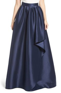 Free shipping and returns on Eliza J Cascade Ball Skirt at Nordstrom.com. This waist-narrowing ball skirt teeming with satin shine elegantly drapes with faux-wrap dimension.