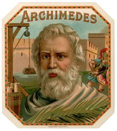"Archimedes (287-212 B.C.) was a Greek mathematician who developed the principle of the lever and that a small weight at a distance from a fulcrum would balance a large weight near the fulcrum and that the weight and distances were in inverse proportion.  He reportedly hooked up a system of levers in pulley form and singlehandedly pulled a fully laden cargo ship out of harbor and onto shore.  He said: ""Give me a place to stand on and I can move the world."""
