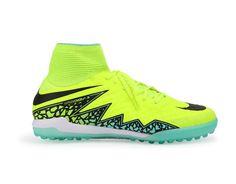 Nike Men's HypervenomX Proximo Turf Soccer Shoes Volt/Black/Black