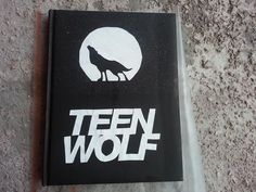 teen wolf notebook diy