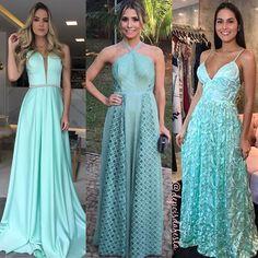 Acessorios para usar com vestido verde agua