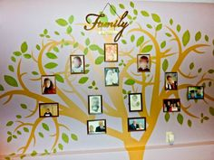 I would use a family tree wall decal or painting in my classroom to incorporate families into the classroom. Families are a huge and important aspect of a child's life. Involving the family can help the children feel more at home and comfortable within their classroom.