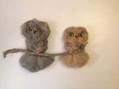 Vintage Macrame Owl Wall Hanging by LAvintageConnection on Etsy, $24.00