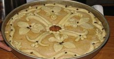 1 of 2 Christophemos (CB)- 1 από 2 Χριστόψωμο (ΚΤ) 1 of 2 Christophemos (CB) - Greek Desserts, Greek Recipes, Xmas Food, Christmas Baking, Christmas Time, Food Network Recipes, Food Processor Recipes, Greek Bread, Cake Recipes
