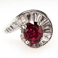 Ruby #ring anyone? Is this your style?