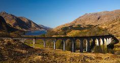 Glenfinnan Viaduct, Scotland - Arch White/4Corners