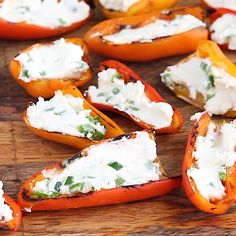 Grilled stuffed mini peppers that are both easy and delicious. This vegetarian appetizer is made with only 3 ingredients — goat cheese, jalapeños and mini peppers!