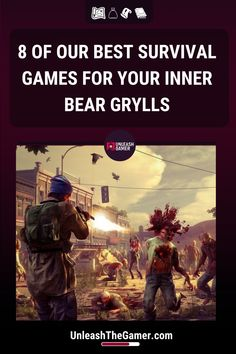 Survival games are a satisfying way to prove your digital mettle, and thanks to the genre's variety and popularity, there are many experiences to choose from. Here you have a list of the eight best survival games. City Building Game, Divinity Original Sin, Procedural Generation, Games On Youtube, State Of Decay, Bear Grylls, Immersive Experience, Survival Mode