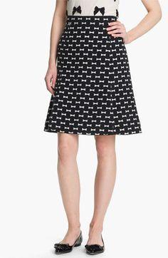 kate spade new york 'flirt' silk blend skirt available at #Nordstrom. $298.00