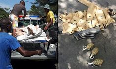 Gunmen scream 'Allah Akbar' as they gun down 14 people at Ivory Coast beach resort...
