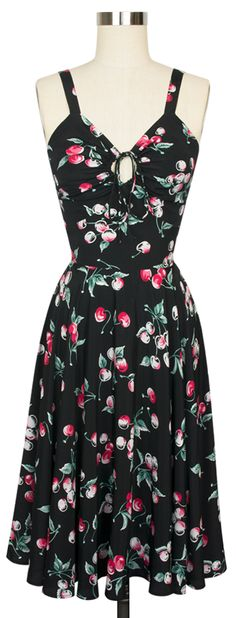 The new Trashy Diva L'Amour Dress now comes in the favorite Cherries print!