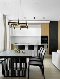 dining room Minimalist Design, Dining Room, Table, House, Furniture, Home Decor, Kitchens, Inspiration, Interiors