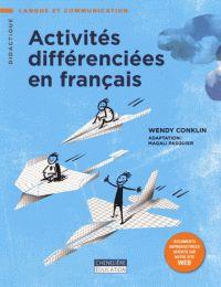 Wendy Conklin - Activités différenciées en français. http://hip.univ-orleans.fr/ipac20/ipac.jsp?session=14D61R957345S.1708&profile=scd&source=~!la_source&view=subscriptionsummary&uri=full=3100001~!590662~!0&ri=34&aspect=subtab48&menu=search&ipp=25&spp=20&staffonly=&term=Activit%C3%A9s+diff%C3%A9renci%C3%A9es+en+fran%C3%A7ais&index=.GK&uindex=&aspect=subtab48&menu=search&ri=34