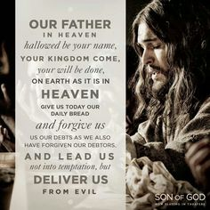 Our Father in Heaven hallowed by Your name. Your Kingdom come, Your will be done, on earth as it is in Heaven. Give us today our daily bread and forgive us our debts as we also have forgiven our debtors. And lead us not into temptation, but deliver us from evil. Amen!! thevoiceoftruthblog.weebly.com