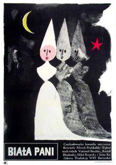 Jerzy Flisak, The White Lady, 1966
