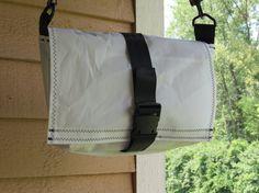 Sailcloth Messenger Bag