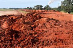 Bauxite mining - Guinea