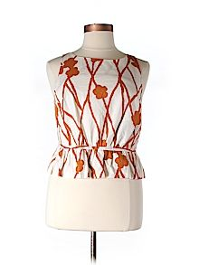 Practically New Size 14 Maeve Sleeveless Blouse for Women