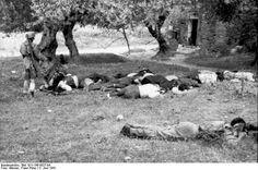 Killed Greek civilians in Kondomari, Crete, Greece, 2 Jun 1941