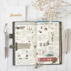 """639 Likes, 12 Comments - Mia  (@mydecoratedmess) on Instagram: """"week 51 • it was an adventure trying out the new dated vertical weekly for my TRAVELER'S notebook.…"""""""