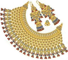 Heavy Wedding jewelry-for ladies only @ The Fun Learning