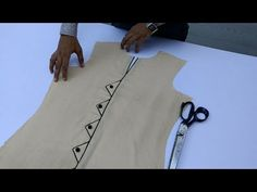 Latest Kurti Design Cutting and Stitching in easy way - YouTube