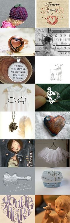 Only for the Young At Heart by Arlene on Etsy--Pinned with TreasuryPin.com